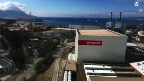 Mecalux ha construido un almacén automático autoportante con más de 4.500 m² para Cepsa