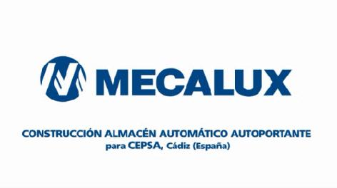 Proceso constructivo del almacén autoportante automático de Cepsa en Algeciras, Cádiz (España)