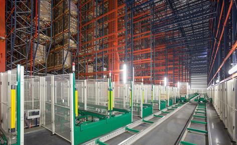 B. Braun ha adquirido un almacén automático autoportante con capacidad para 42.116 tarimas construido por Mecalux