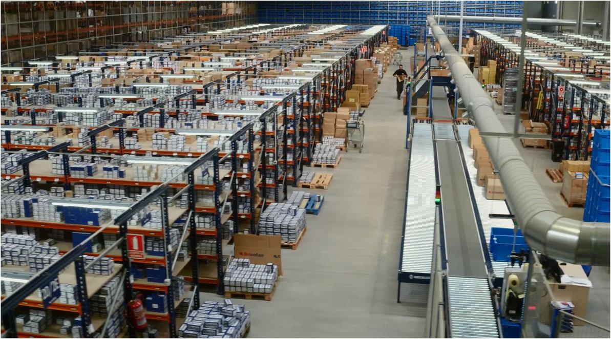 Caso práctico: nuevo centro logístico automatizado de Cofan