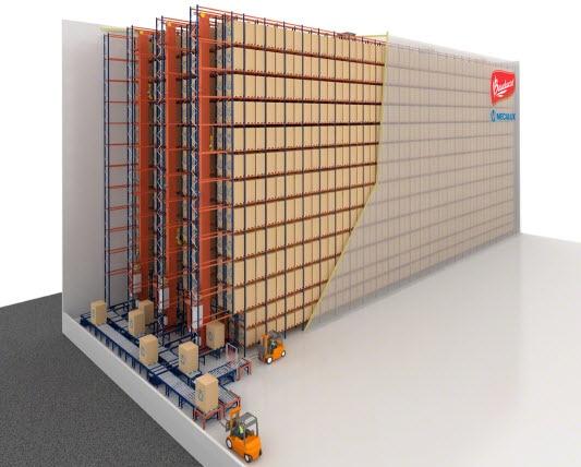 Los panettones de Bauducco en Brasil se alojarán en un nuevo almacén automático autoportante