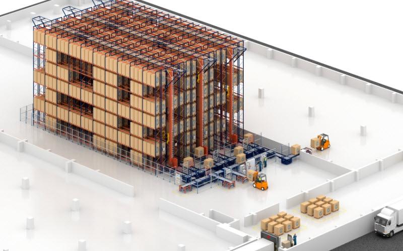 Capacidad de almacenaje y agilidad en el nuevo almacén de galletas de Desobry