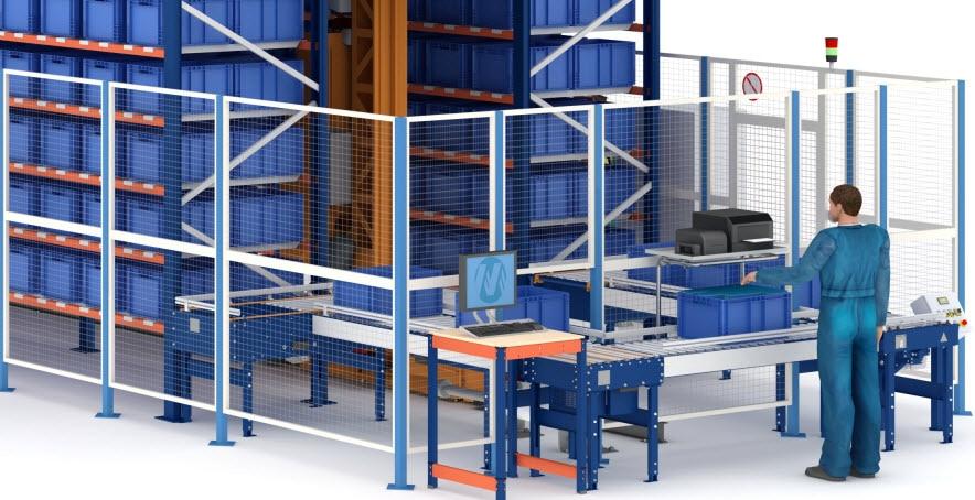 Nuevo almacén automático de cajas de Airgrup en Sevilla
