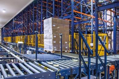 El sistema Pallet Shuttle puede combinarse con otras soluciones de almacenaje